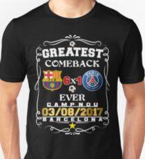 Barcelona Greatest Comeback Ever. Unisex T-Shirt