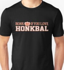 Honk If You Love Honkbal T-Shirt