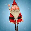 Santa Claus flies by jordygraph