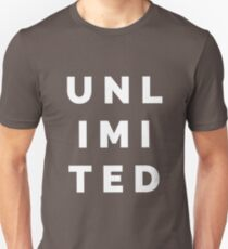 UNLIMITED T-Shirts and Tanks Unisex T-Shirt