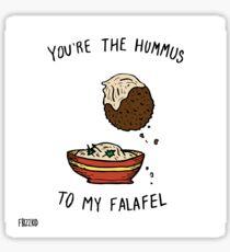 Hummus & Falafel Sticker