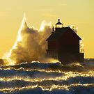 Grand Haven Golden Waves by stormypleasures