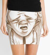 A very worried Percy Gloom. Mini Skirt