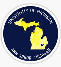 University of Michigan - Style 3 Sticker