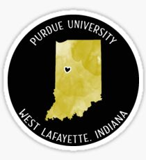 Purdue University - Style 3 Sticker