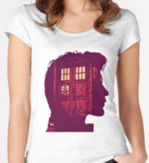 The Eleventh Doctor / Doctor Who Women's Fitted Scoop T-Shirt