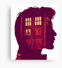 The Eleventh Doctor / Doctor Who Canvas Print