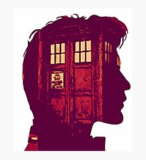 The Eleventh Doctor / Doctor Who Photographic Print