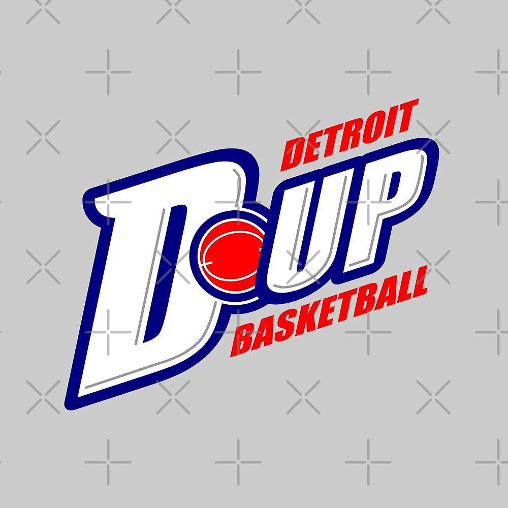 D-UP Detroit Basketball by thedline