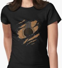 RIP Guitar (Version 1) Women's Fitted T-Shirt