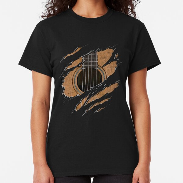 RIP Guitar (Version 1) Classic T-Shirt