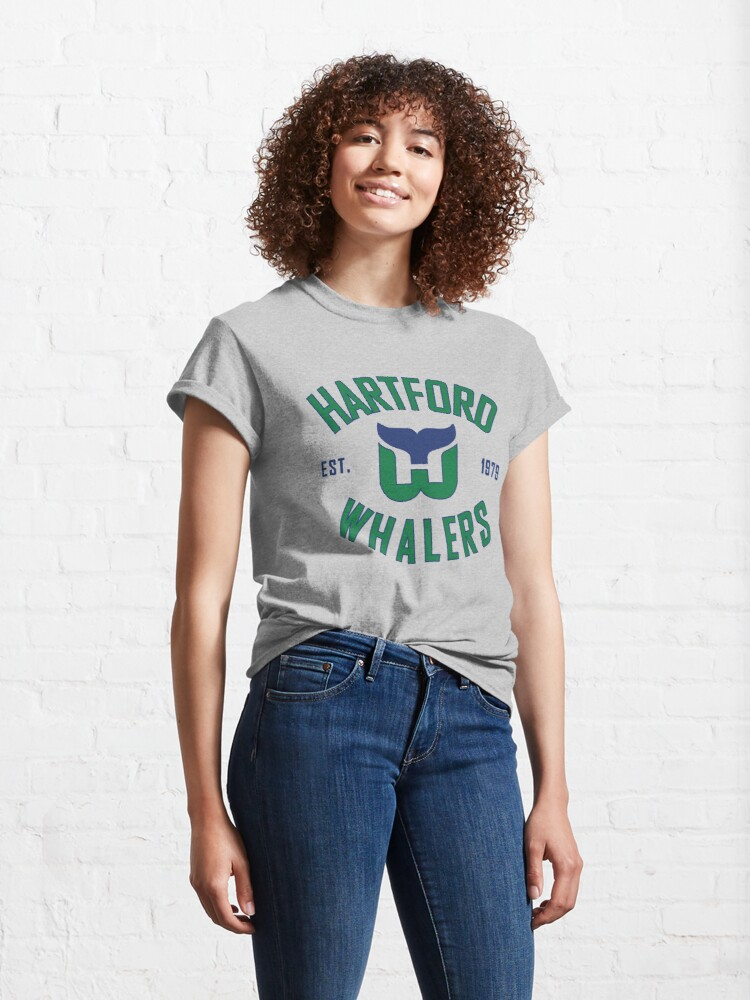 Alternate view of Hartford Whalers CT Classic T-Shirt