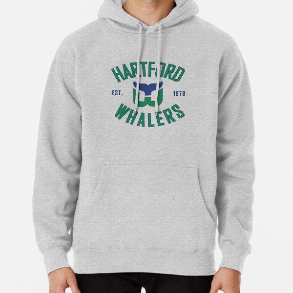 Hartford Whalers CT Pullover Hoodie