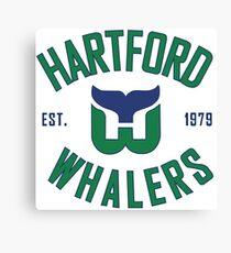 Hartford Whalers CT Canvas Print