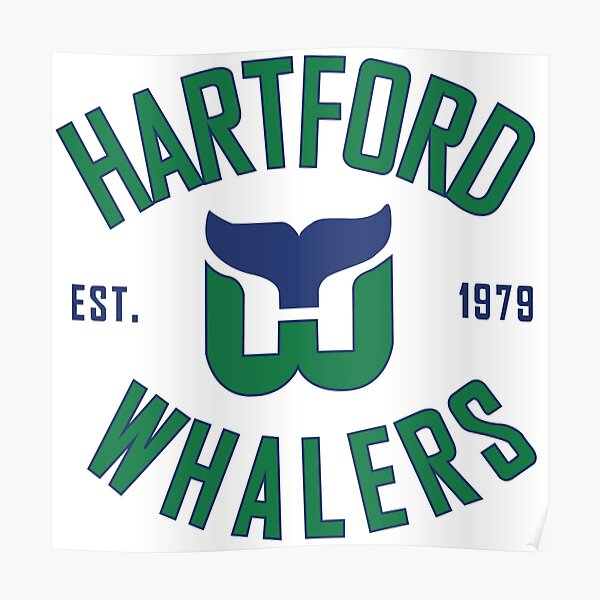 Hartford Whalers CT Poster