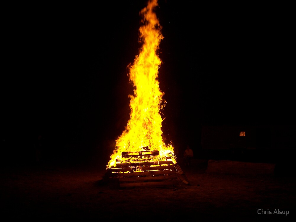 Bonefire at renfest by Chris Alsup