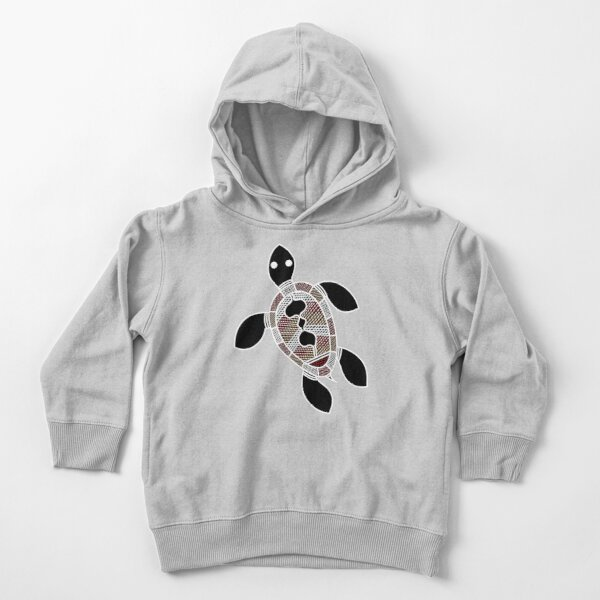Aboriginal Art - Turtle Toddler Pullover Hoodie