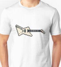 Pixel White EET FUK Guitar Unisex T-Shirt