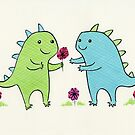 Dino Love by zoel