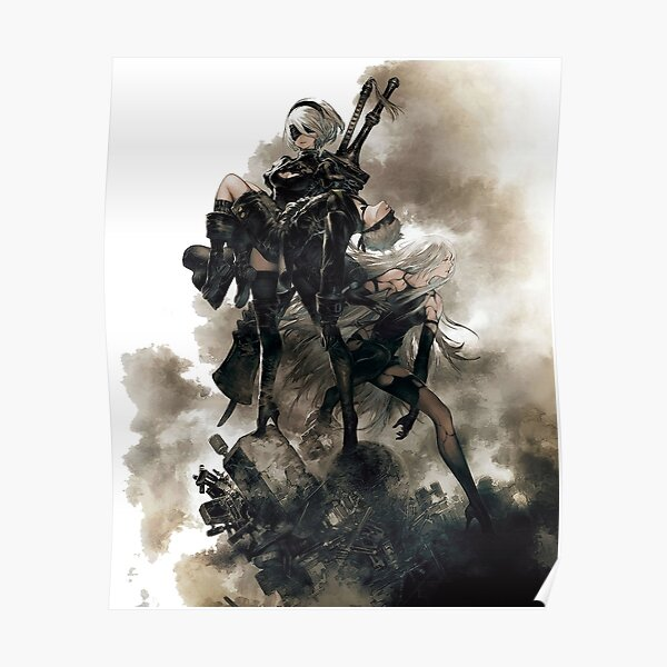 Nier: Automates Poster