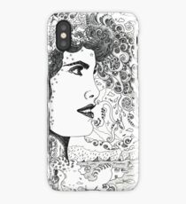 Vision On [Original Pen drawing] iPhone Case