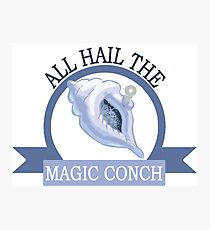 All Hail the Magic Conch Photographic Print