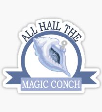 All Hail the Magic Conch Sticker