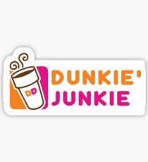 Dunkie' Junkie Sticker