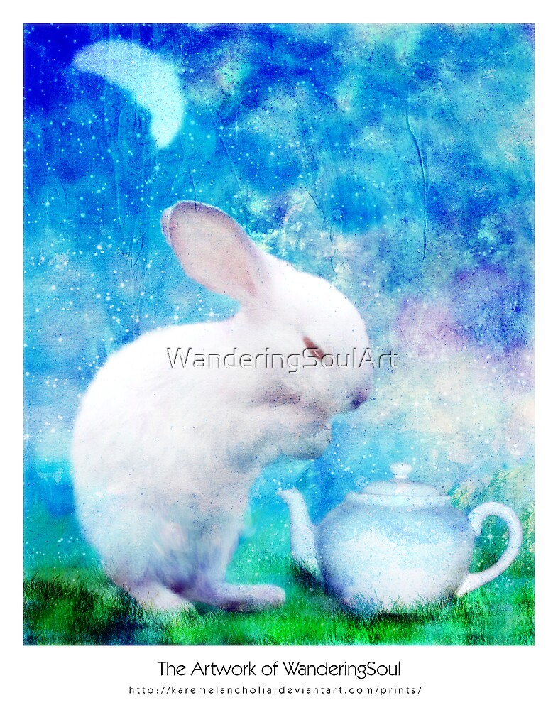 Ah, My bunny! by WanderingSoulArt