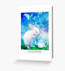 Ah, My bunny! Greeting Card