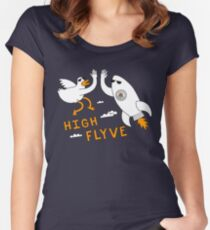 High Flyve Women's Fitted Scoop T-Shirt
