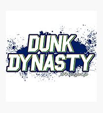 Dunk Dynasty Photographic Print
