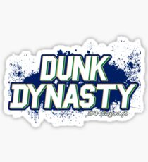 Dunk Dynasty Sticker