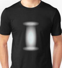 Glitch Overlay teleporter beam Unisex T-Shirt