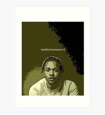 Untitled Unmastered 03.09.2017 Art Print