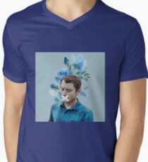 flower todd Mens V-Neck T-Shirt