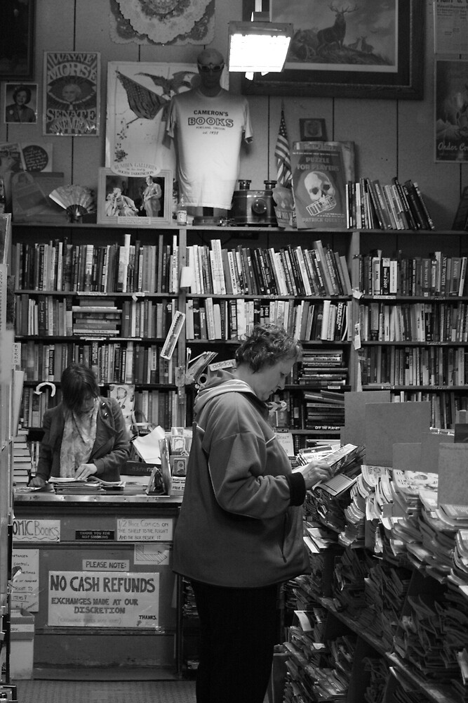 Camerons Bookstore by Bardiebar