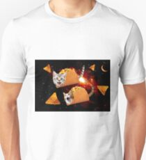Taco Cats Space Unisex T-Shirt