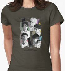 SHINee Tour - Los Angeles Womens Fitted T-Shirt