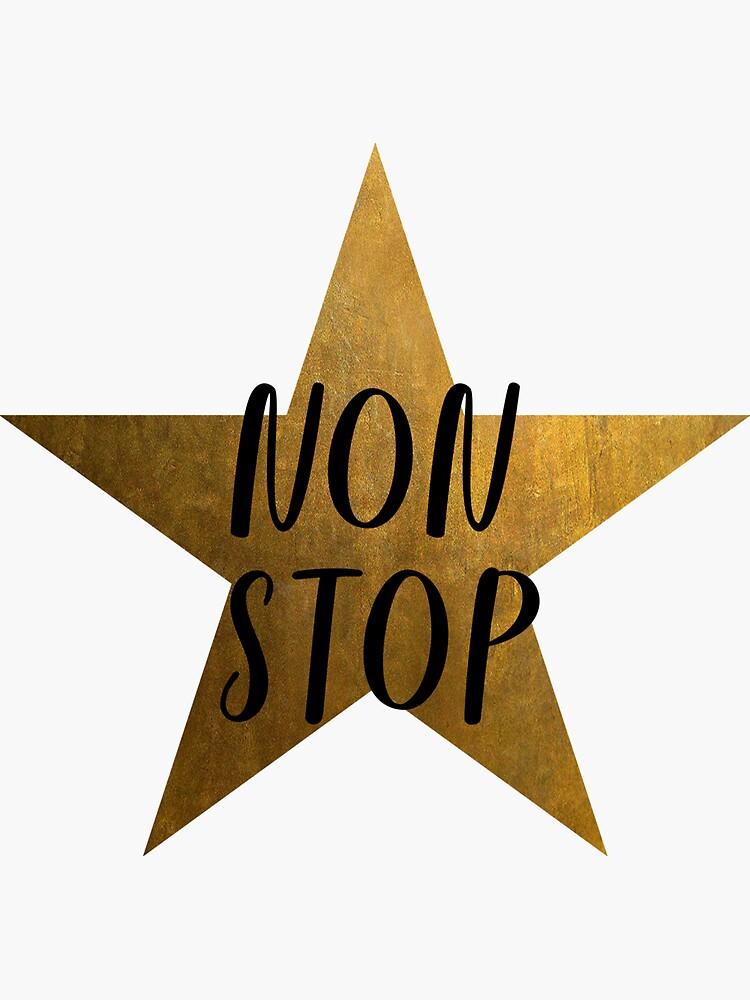 Non-Stop - Hamilton Star by justonedesign