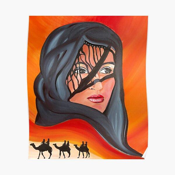 Desert Queen Mirage Poster