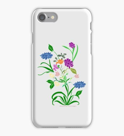 Bride to be  & flowers (5002 views) iPhone Case/Skin