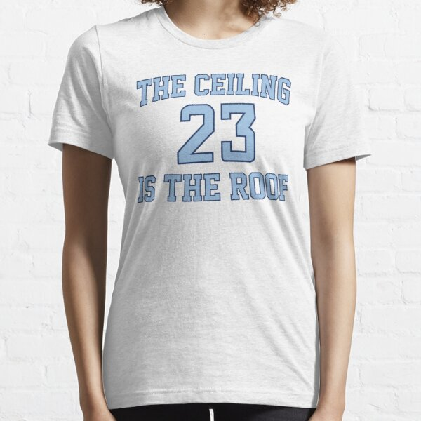 The Ceiling Is The Roof (Gameday) (Dark Blue/Light Blue) Essential T-Shirt