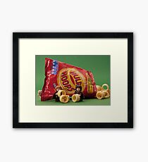 One hoop to rule them all Framed Print