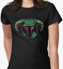 Fett-Roh-Da Womens Fitted T-Shirt
