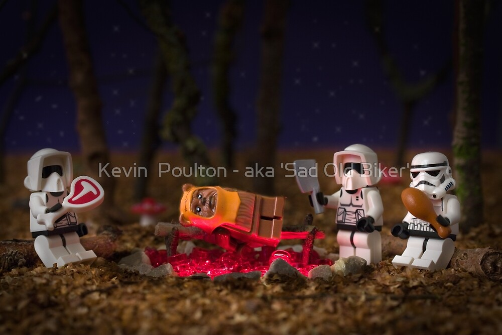 Ewok BBQ by Kevin  Poulton - aka 'Sad Old Biker'