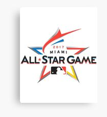 MLB All Star Game 2017 Canvas Print
