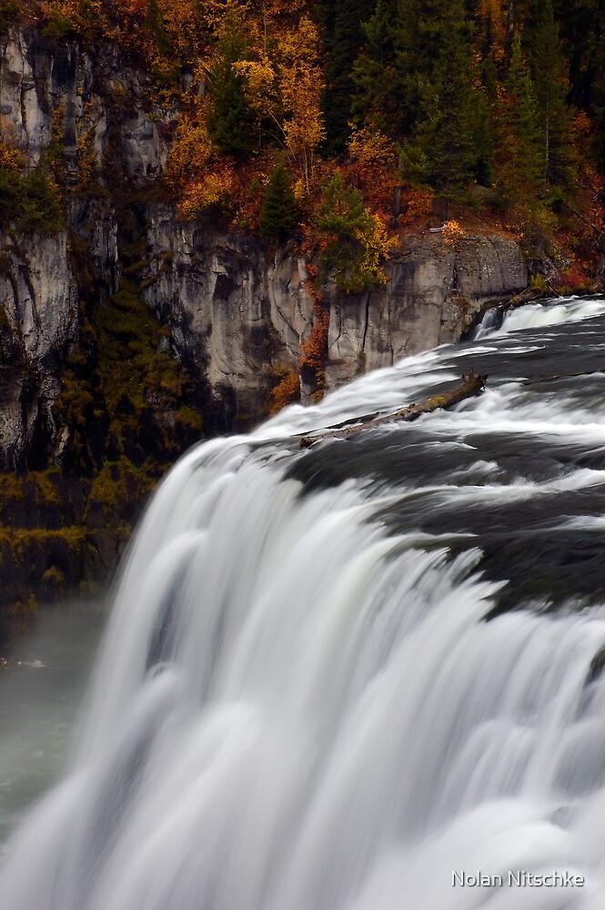 Upper Mesa Falls by Nolan Nitschke