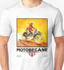 1936 Geo Ham Motobecane Motorcycle Poster T-Shirt