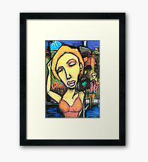 Alma Road Girl Framed Print